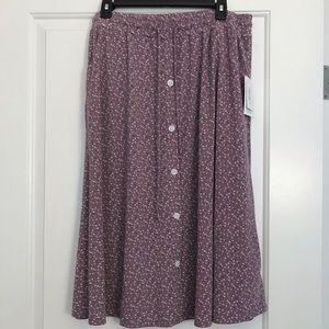 NWT Lularoe Medium Marsha Skirt